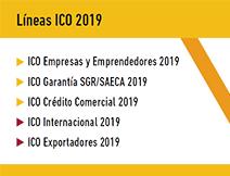 Lineas ICO 2019