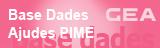 Base de dades Ajudes PIME