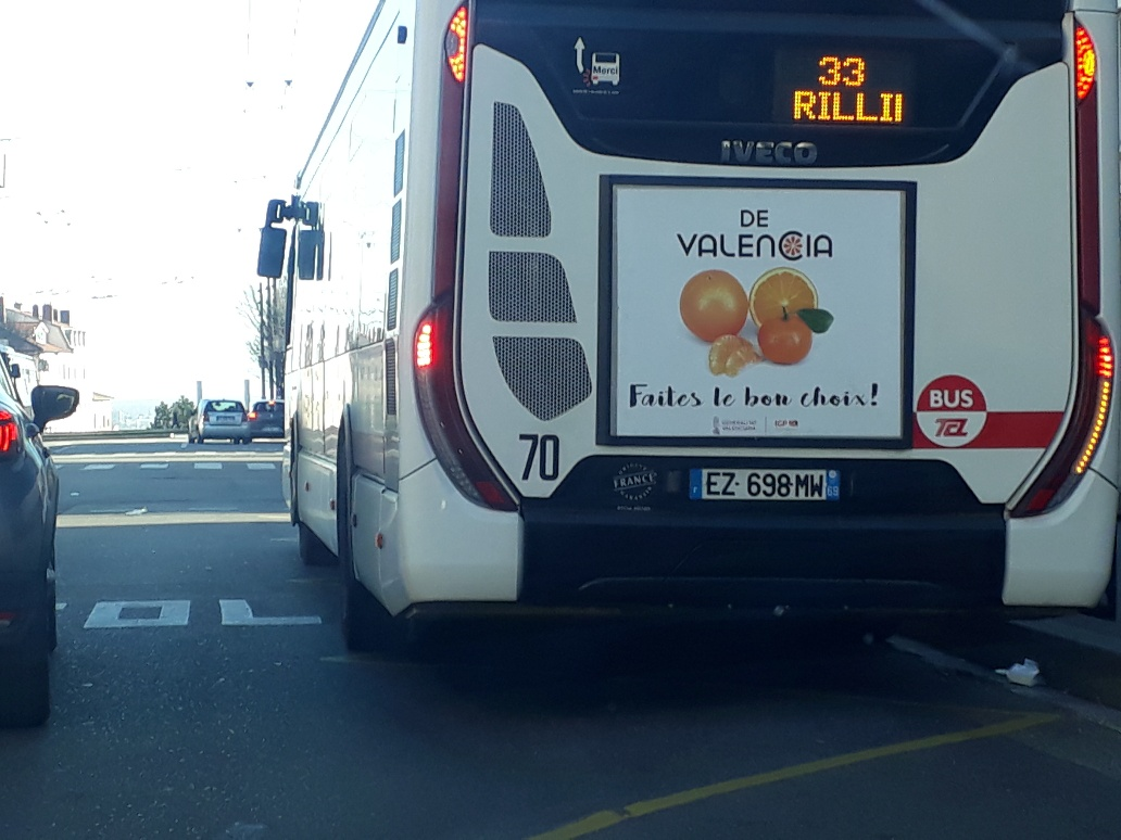 Photo bus 2 campagne Lyon
