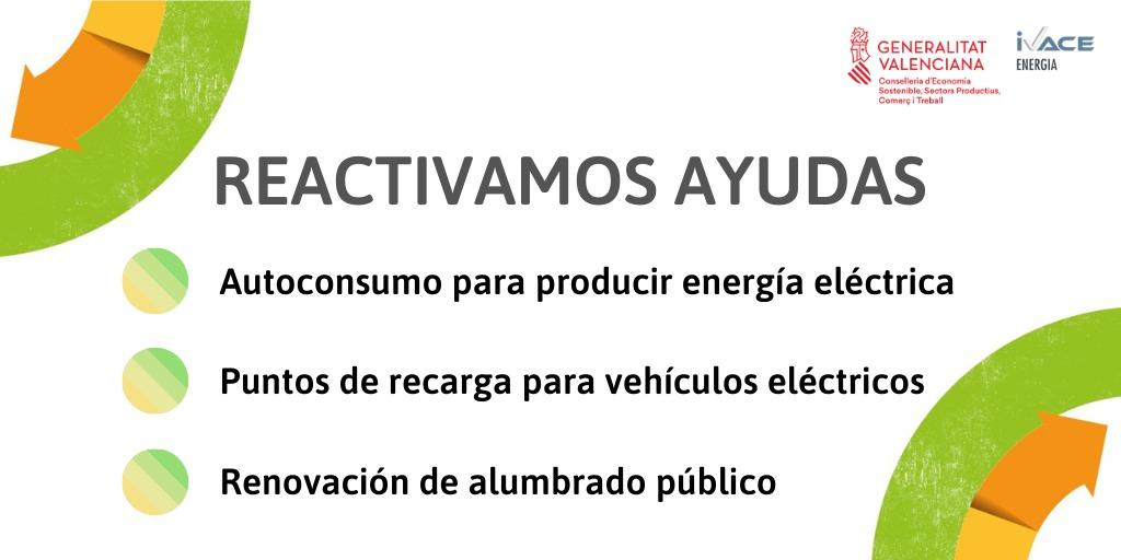 reactivacion ayudas energia
